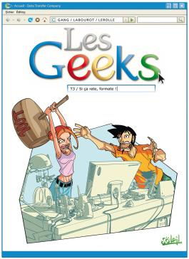 Les Geeks T03 Si ça rate, formate !