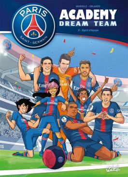 Paris Saint-Germain Academy Dream Team T03 Esprit d'équipe