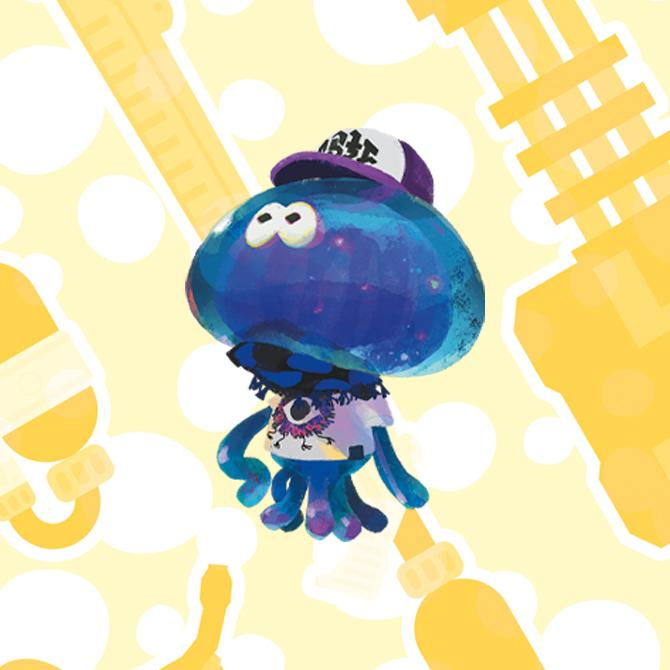 Méduses - Splatoon