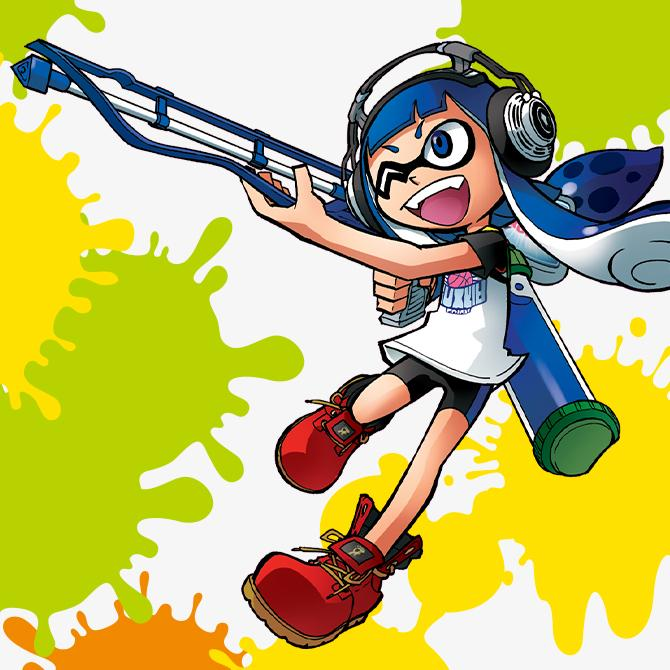 Miss casque - Splatoon